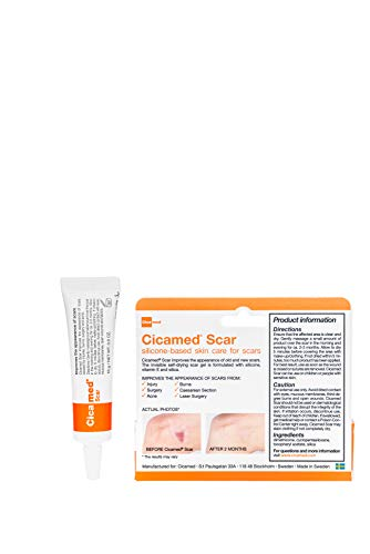 Cicamed Scar Treatment Removal and Correcting Gel for Face and Body