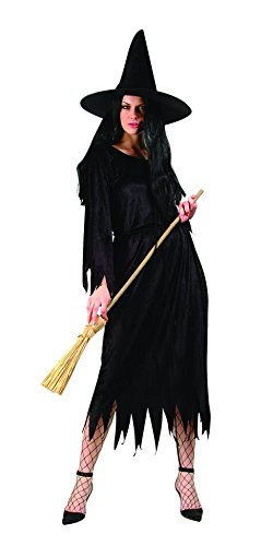[RG Costumes Classic Witch, Black, One Size] (Classic Black Witch Costumes)