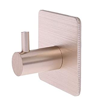Amazon.com: MOPOLIS - Perchero autoadhesivo de aluminio para ...