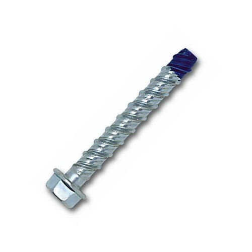 3/4'' x 10'', Powers Wedge-Bolt+ Heavy Duty Concrete Screw Anchors, Hex Head, Mechanically Galvanized Carbon Steel, 10/Bx