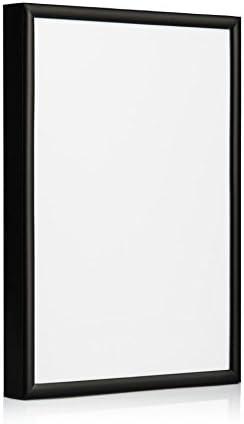 Marco de aluminio, color negro, Black Pack of 1, 10: Amazon.es: Hogar
