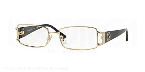 b24f9ef0fa Versace VE1163M Eyeglass Frames 1252-52 - Pale Gold VE1163M-1252-52