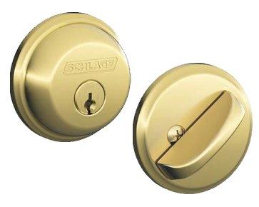 Locks Grade Ansi (Schlage B62619 B62 Double Cylinder Deadbolt, Satin Nickel)
