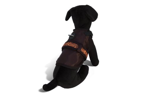 - Avant Garde Dog Harness, Animal Print, Large