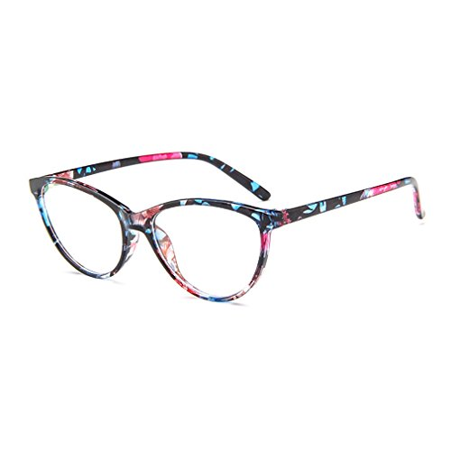 LOMOL Europe and America Retro Personality Transparent Lens Cateyes Frame Glasses For - I Get Can Ray Bans Cheap Where