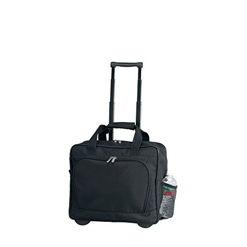 Preferred Nation Bellino On the Go Rolling Wheel Business Briefcase, Black ()