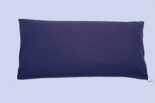 Jersey ecru Theraline Kopfkissen Mikroperlenf/üllung 80x40 cm inkl Bezug