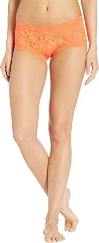 Hanky Panky Women's Signature Lace Boyshort Tangelo - Low Boyshort Rise Panties
