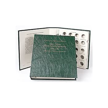 Proofs Silver Littleton LCA17 Album For US Commemorative Quarters 1999-2003