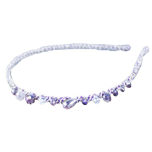 Brendacosmetic Korean New Headdress Handmade Crystal hairband, Fashion Colorful Delicate Crystal Rhinestones Headband for women girl - Malaysia Gatsby