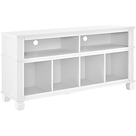Ameriwood Home Woodcrest TV Stand For TVs Up To 55 White