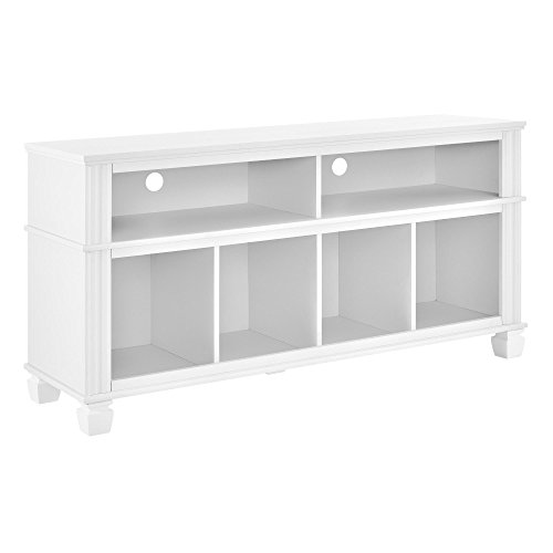 """Ameriwood Home Woodcrest TV Stand for TVs up to 55"""", White from Ameriwood Home"""