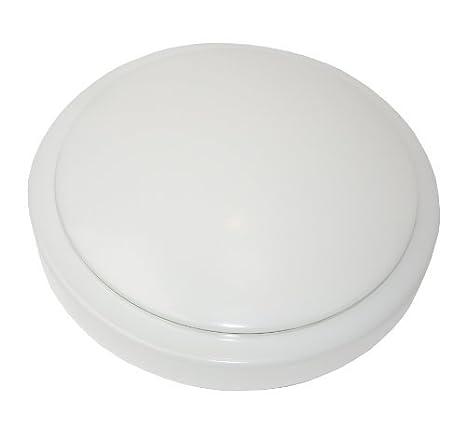 Lowenergie 18w LED Bulkhead Ceiling or Wall Light IP65 Energy Saving Fitting Bathroom Corridor (4000K)