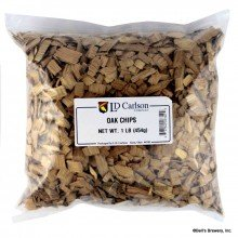 LD Carlson 6340B American Oak Chips - Light Toast - 1 lb.