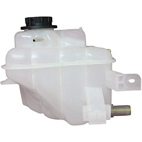 (Coolant Reservoir Expansion Tank compatible with Ford Taurus 00-07 Ohv Eng. W/Cap Plastic)