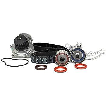 DNJ TBK151CWP Timing Belt Kit with Water Pump for 2003-2009 / Chrysler, Dodge/Neon, PT Cruiser / 2.4L / DOHC / L4 / 16V / 148cid