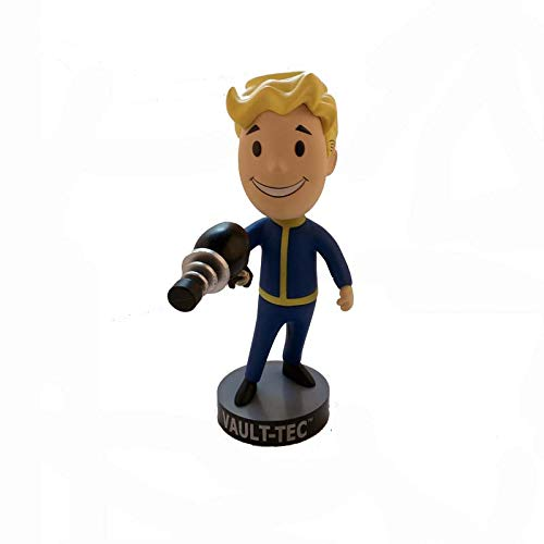 TOYSTOCK Fallout Bobblehead Gaming Heads Fallout 4 Vault Boy Bobbleheads Series 1 PVC Action Figure S