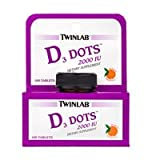Cheap Twinlab Vitamin D 2000 Iu Dots