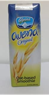Alpina Avena Original Oat-based Smoothie 8.33 Oz (250 ml) (Pack of