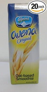 Amazon.com : Alpina Avena Original Oat-based Smoothie 8.33 Oz (250 ...
