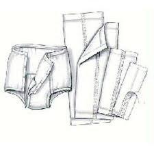 HandiCare Garment Liner, Grmt Liner 7X17 in, (1 CASE, 200 EACH) by COVIDIEN