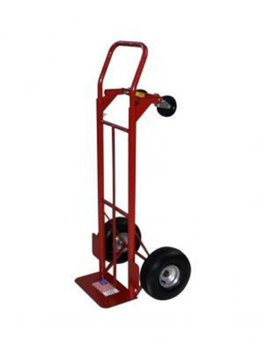 Milwaukee Hand Trucks 30080 Convertible Truck With 10 Inch P