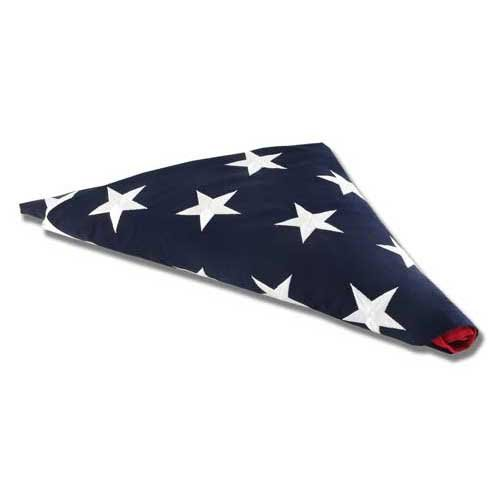 Online Stores Cotton American Memorial Flag, 5 by 9.5-Feet