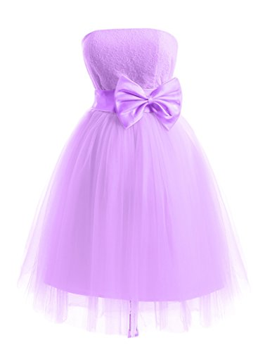 Missdressy - Vestido - trapecio - para mujer lila