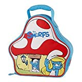The Smurfs Insulated Zippered House Shaped Lunch Bag by Thermos, Baby & Kids Zone