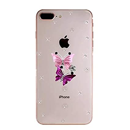 brand new 0905e 9427d Print Studio iPhone 7 Plus Back Cover for Girls 3D: Amazon.in ...