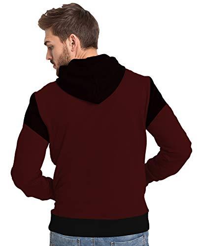 JUGULAR Men's Cotton Hooded Sweatshirt