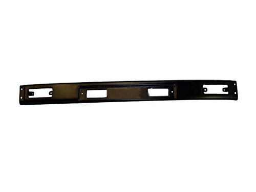 For 84-88 Toyota Pickup 2Wd (3Pc Bumper Type) Front Bumper Center Bar Primed Black TO1002114