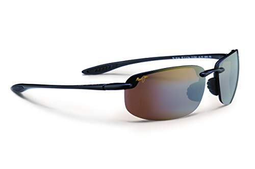 407d58d5a57 Maui Jim H407-02 Black Hookipa Wrap Sunglasses Polarised Golf ...