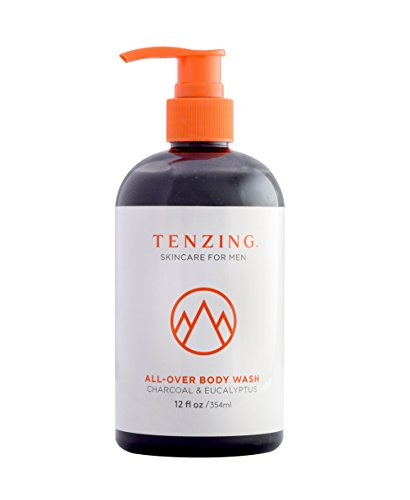 Tenzing Skincare Body Wash - Natural and Organic Shower Gel for - Gel Body Cleansing Men