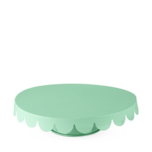Cakewalk 6169 True Fabrication Mint Metal Cake Stand One Size