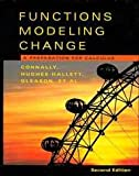 Functions Modeling Change, Textbook and Solutions Manual : A Preparation for Calculus, Connally, Eric and Avenoso, Frank, 0471484377