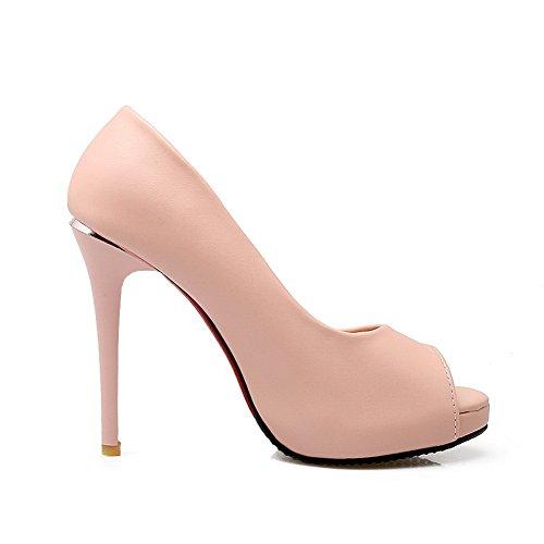 SLC04168 Rose AdeeSu Plateforme Femme Femme AdeeSu SLC04168 Plateforme Sw54Hq84