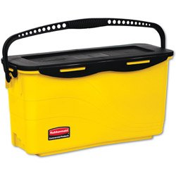 RCPQ950 - Rubbermaid-Disinfecting Bucket, Yellow Disinfecting Microfiber Mop Bucket