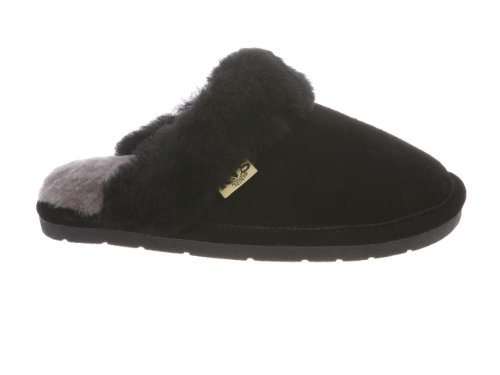 Scuff Slipper Fuzzies Black Rj's Womens Small RvgqSAx