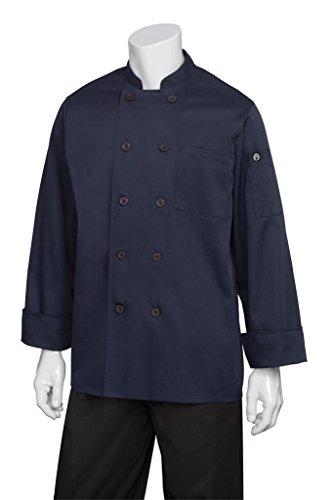 ino Chef Coat, Navy, 4X-Large ()