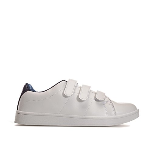 Penn Baskets Sneakers Velcro Cour Hommes Blanc-marine