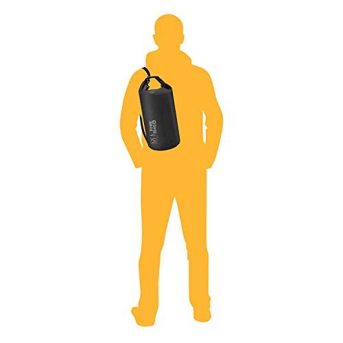 liters cm Area Plage Sac Free Bag Nero 5 Noir 44 de rgA8Yr