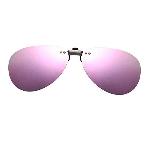 Portección Sol Anti Mujer Polarizadas Reflejante Aviator Sin Gafas Eyewear de Conducir UV400 Rosa Marco Sunglasses Hombre Deylaying Vintage wPxn7qzw