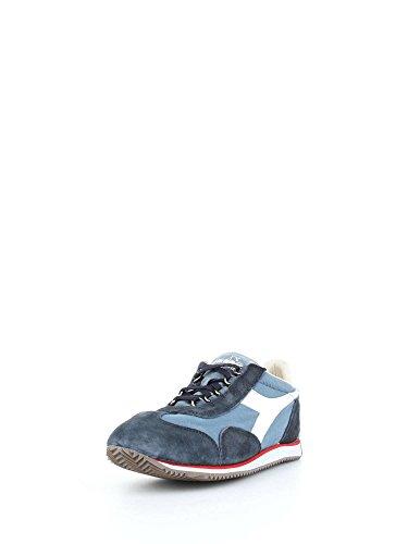 CINA Unisex BLU Adulto Wash Diadora Low Top Heritage Scarpe 12 Equipe Stone aP4Cx