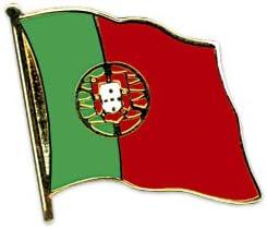 Yantec drapeau portugal flaggenpin broches