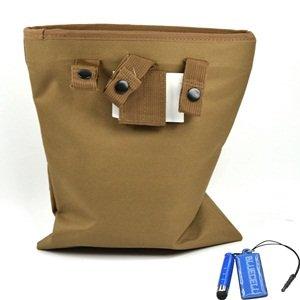 Bluecell War Tactical Military Magazine Dump Waist Bag (Coyote Tan)