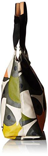 Kiely con Multi Orla Multicolour Borsa Big Maniglia Print Owl Zip Classic Donna Multicolore dxqRp70Twq