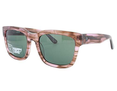 Spy Optic Unisex Trancas Pink Smoke/Happy Gray Green One Size (Spy Sunglasses Pink)
