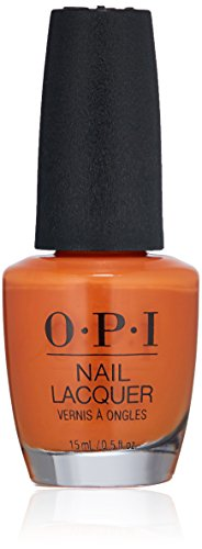 Halloween Nail Polish Ideas (OPI Nail Lacquer, Summer Lovin Having a)