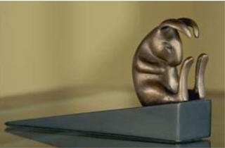 Lazy Rabbit Doorstop for sale  Delivered anywhere in USA
